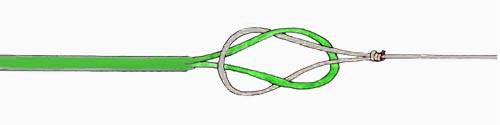 соединение коннектора с конусным подлеском