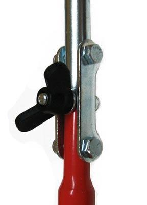 ледобур осевой замок система складывания складное соединение